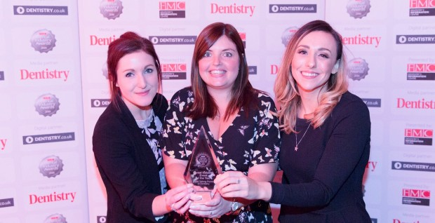 Victory for StockdaleMartin at the Dental Industry Awards!