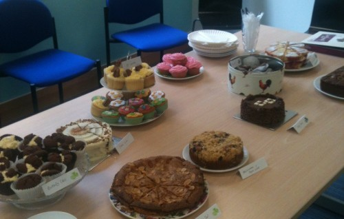 Another successful coffee morning